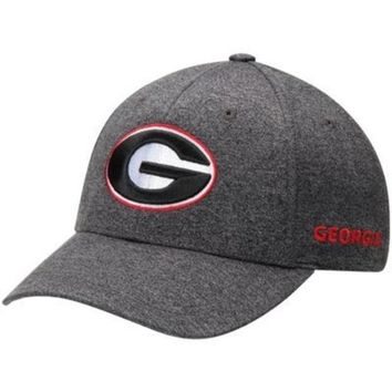 ONETOW NCAA Georgia Bulldogs Top Of The World Callout Grey Adjustable Hat