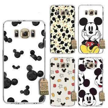Mickey Mouse Disney themed soft case for Samsung phones