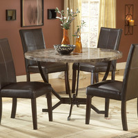 4142-monaco-5-piece-dining-set - Free Shipping!