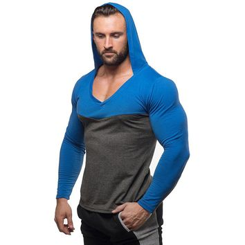 Mens Bodybuilding Hoodies Golds Gyms Clothing Workout Slim Fit Sweatshirts Male Hooded Tracksuit Boys Sportswear Cotton