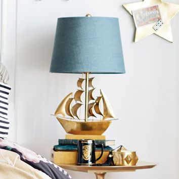 The Emily + Meritt Pirate Ship Table Lamp
