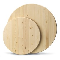 24-in Stain Grade Kiln-Dried Pine Round | Lowe's Canada