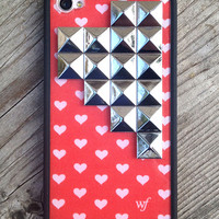 Sweetheart Silver Pyramid iPhone 4/4s Case