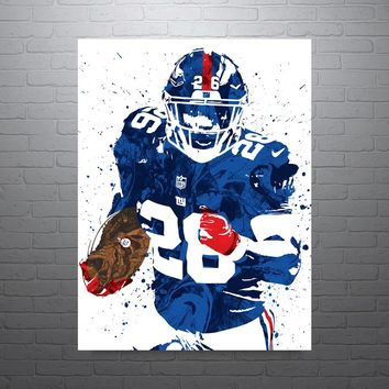 Saquon Barkley New York Giants Poster