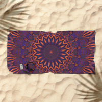 Tranquility Beach Towel by lyle58
