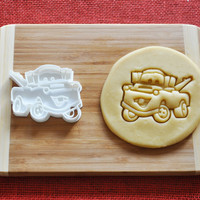 Cars Mater Cookie Cutter Disney Cartoon Biscuit Stamp Cake Topper Fondant Gingerbread cutter Baby Shower Gift