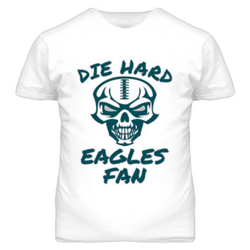 Unisex Die Hard Eagles Fan Football T-Shirt