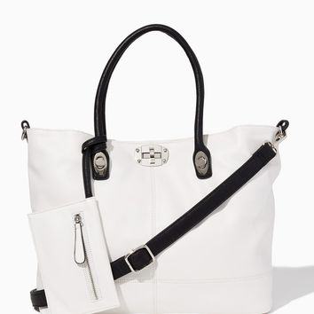 Milano Triple Bag-in-Bag Tote | Fashion Handbags & Purses | charming charlie