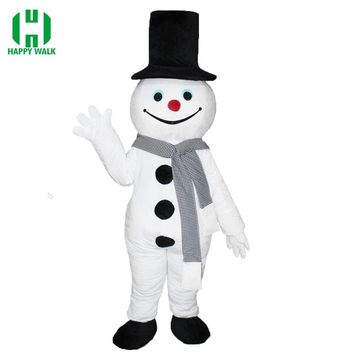 Good Quality Jack Frost Mascot Costume Frosty the Snow Mascot Suit