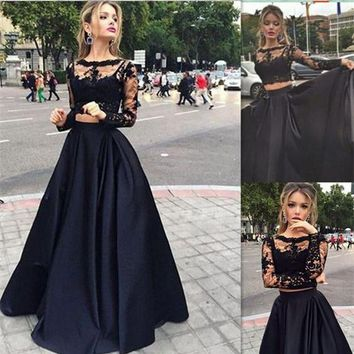 Fall Winter Evening Skirt Runaway High Street High Waist Black Plus Size 7XL Custom Autumn Party Maxi Long Skirts Womens 2017