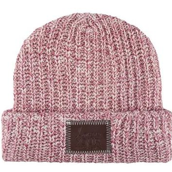 Blush and Rose Speckled Cuffed Beanie - Love Your Melon