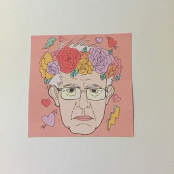 Bae Bernie Sticker