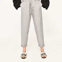JOGGING TROUSERS WITH BOWS