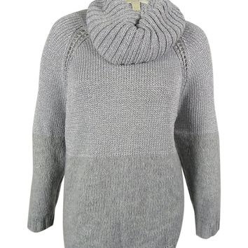 Michael Kors Women's Metallic Wool Blend Sweater