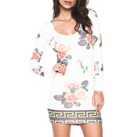 Local Celebrity Murder Tunic Dress in Floral from REVOLVEclothing.com