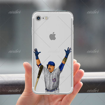 Famous Baseball Clear Phone Case for ALL iPhone 7 7Plus 6 6s Plus 5 5s SE