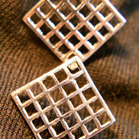 Hollow Grid Earring