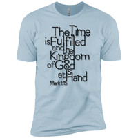 The Time Is FulfilledNext Level Premium Short Sleeve Tee