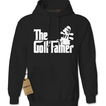 The Golf Father Golfing Dad Adult Hoodie Sweatshirt