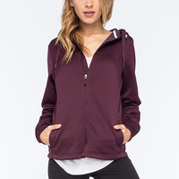Under Armour Coldgear Infrared Isa Womens Hoodie Ox Blood  In Sizes