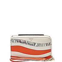 Fossil Sydney Patchwork Multifunction Phone Wallet - Monarch