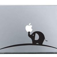 Calf elephant  Mac Decal Macbook Stickers Macbook Decals by ileiss