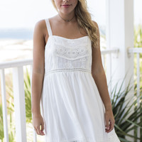 Gotta Good Feeling White Dress