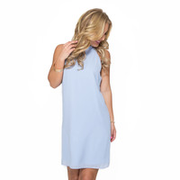 Sunday's Best Shift Dress In Periwinkle