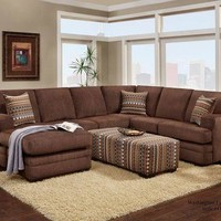 Washington 4160 Sectional Set