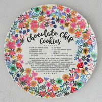 Cookie Recipe Plate