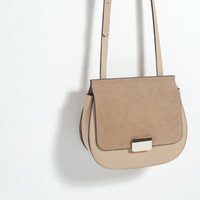 CONTRAST MATERIAL CROSS - BODY BAG-View All-BAGS-WOMAN-SALE | ZARA United States