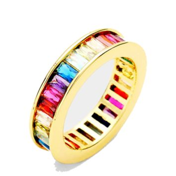 Rainbow Channel Ring