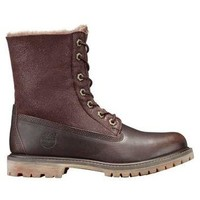 Timberland | Women's Timberland Authentics Shearling Fold-Down Boots