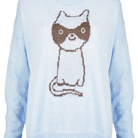 Knitted Cat Burglar Jumper