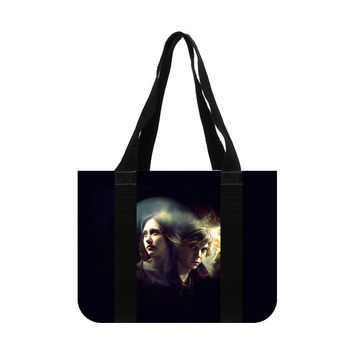 American Horror Story Tate Langdon Violet Harmon Cotton Canvas Tote Bag (two sides)