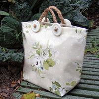 Home Bag White Rose