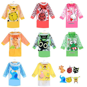 Children Cartoon rainproof Rain Coat