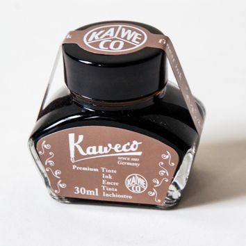 Kaweco Inkwell Premium 30mL Ink Caramel Brown