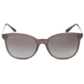 Bvlgari Round Sunglasses BV8160B 526211 54 | Gray Brown Acetate Frame | Gray Gradient Lenses