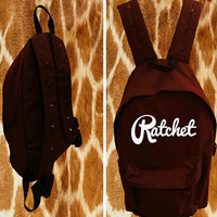 Burgundy Ratchet Bag
