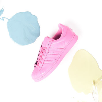 Pharrell Williams x adidas Superstar Supercolor Pack - Semi Solar Pink