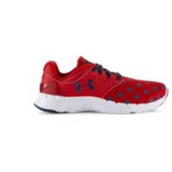 Under Armour Boys' Grade School UA Flow Flag Graphic Running Shoes