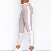 New fashion print yoga fitness sports leisure pants women