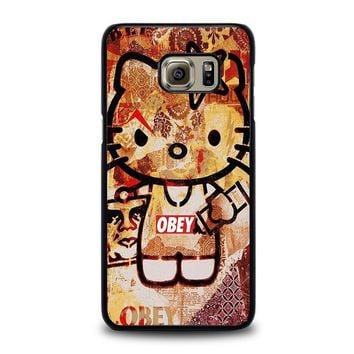 obey hello kitty samsung galaxy s6 edge plus case cover  number 1