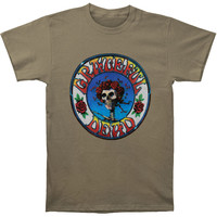 Grateful Dead Men's  Bertha T-shirt Grey