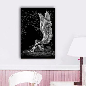 Brand-new Shop Angel Wings Painting on Wanelo PS41