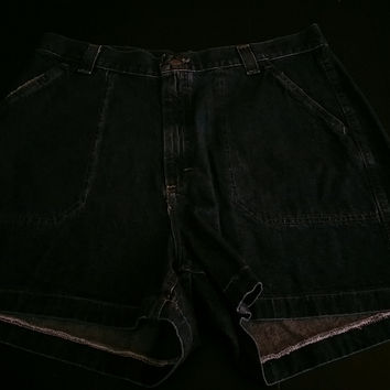 Lee Riders Denim Shorts Size 16M 100% Cotton Front Bucket Pockets