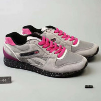 Reebok Fashion Casual  Men Sneakers Sports Running shoes Grey Rose G-A-YYMY-XY