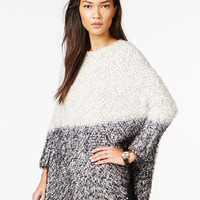 Bar III Furry Ombré Sweater, Only at Macy's - Juniors Shop All Apparel - Macy's