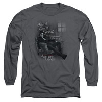 VAMPIRE DIARIES/BE YOURSELF - L/S ADULT 18/1 - CHARCOAL -